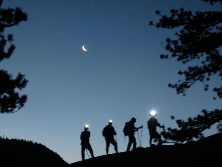 Half Dome Hikers