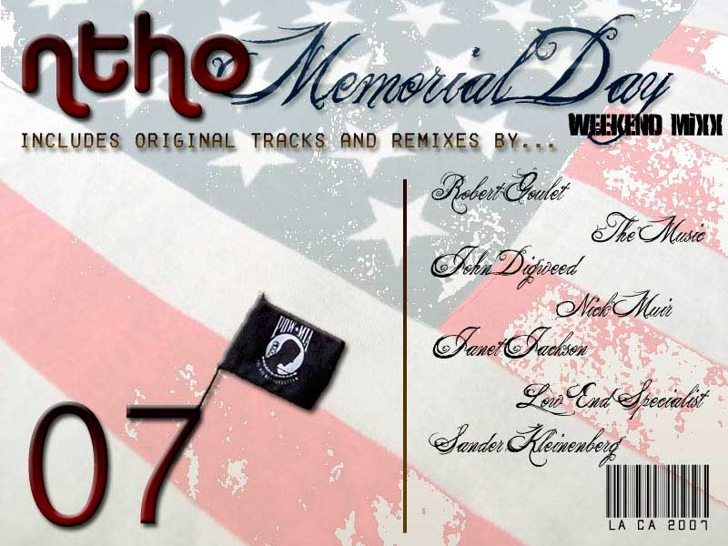 Memorial Day Mix - Album Art 2